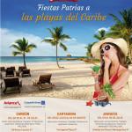 Fiestas Patrias a las Playas del Caribe
