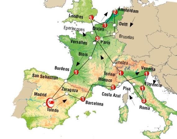 cirucuito europa basica