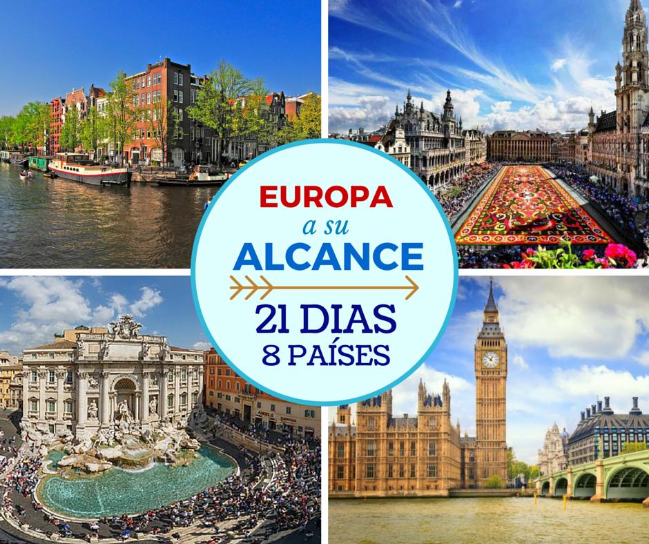 Tour Por Europa Todo Incluido Desde Colombia