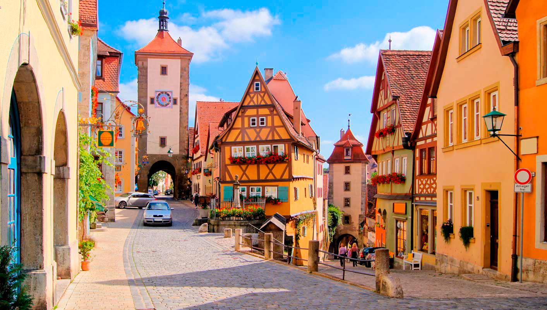 Rotemburgo: La ciudad más bella de Alemania