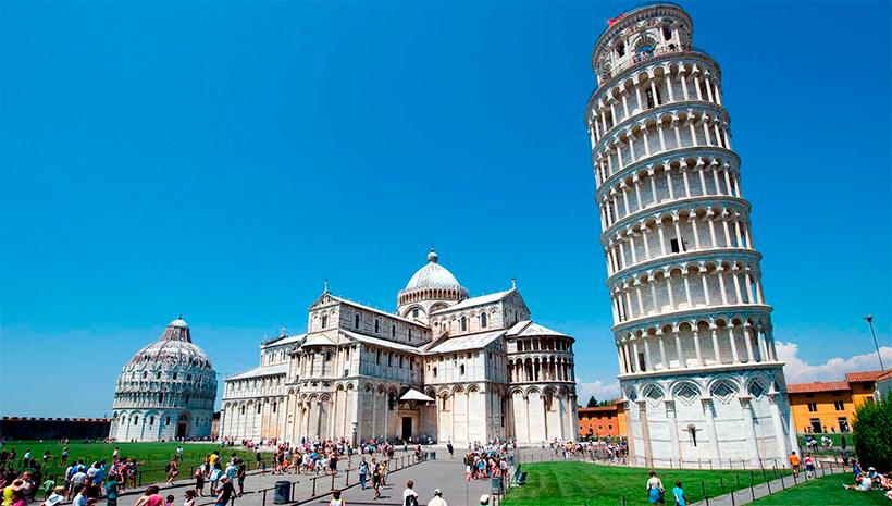 Pisa: Desafío artístico a la gravedad y a la ciencia. La torre más bella de Italia