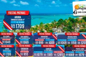 Ofertas Fiestas Patrias en Aruba
