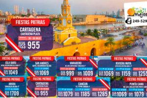 Ofertas Fiestas Patrias en Cartagena