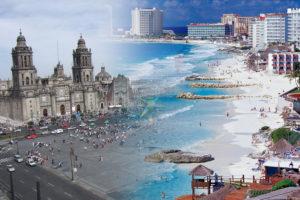 Paquetes Combinados a MEXICO DF y CANCUN