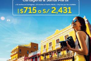 Cartagena y Santa Marta (Paquete Combinado)