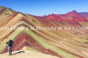 Cusco & Montaña 7 Colores